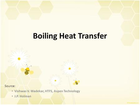 Boiling Heat Transfer Source: