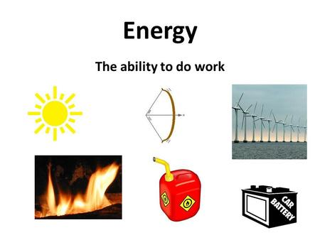 Energy The ability to do work. Energy Laws Laws of Thermodynamics (energy flow) 1.Law of the Conservation of Energy - Energy can not be created nor destroyed.