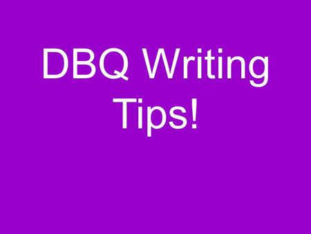 dbq essays online Essays - largest database of quality sample essays and research papers on spanish conquistadors dbq.