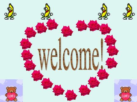 Welcome!.