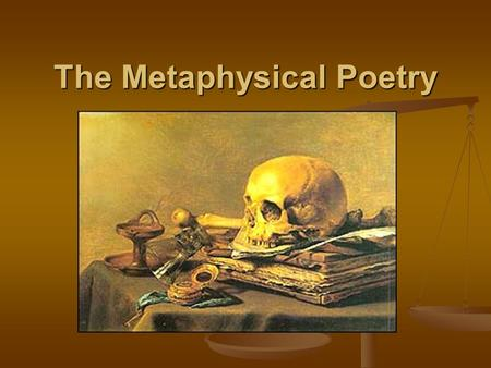 Metaphysical Poetry of Andrew Marvell Essay