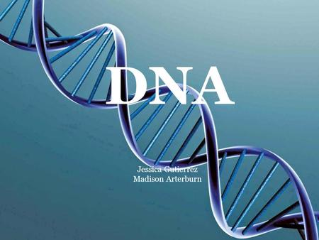 DNA Jessica Gutierrez Madison Arterburn. Structure of DNA Nucleic Acid (DNA) is an organic compound Made up of repeating sub-units called nucleotides.