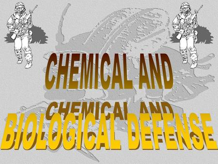Topic 1.3 Chemical/Biological Defense - Agent Identification - First Aid - Decontamination.