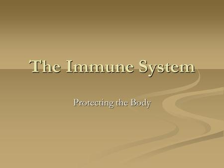 The Immune System Protecting the Body. First Line of Defence The skin keeps out bacteria and viruses The skin keeps out bacteria and viruses Acidic oils.