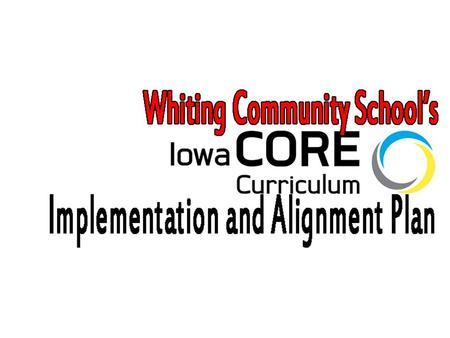 KUD Know –Purpose of the Model Core Curriculum –Our Timeline and Action Plan –Expectations for aligning Model Core Curriculum Essential Concepts or Skill.