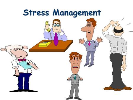 Stress Management. WHAT IS STRESS? l Stress is your mind and body's response or reaction to a real or imagined threat, event or change. l The threat,