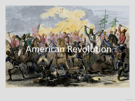 American Revolution. The Who's Who of Revolution Colonists fighting for freedom from England Patriots Colonists loyal to England Loyalists Name for British.