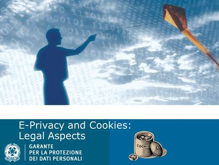 E-Privacy and Cookies: Legal Aspects. E-Privacy Directive 2002/58, amended by 136/2009 Main amendments focus on DBN (security) and confidentiality of.