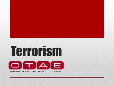 Terrorism Citizen Corps Citizen Corps Areas of Emphasis: Crime Natural disasters Terrorism.