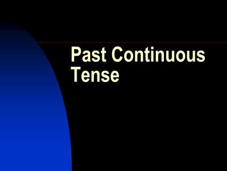 Past Continuous Tense. Use the words and the past continuous tense to make correct sentences....