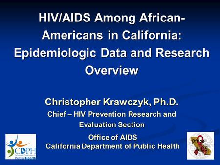 hiv aids summary of research study