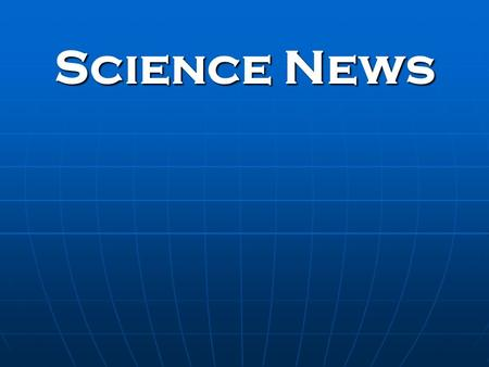 Science News. What is WIND? The horizontal motion of air across Earth's surface; movement produced by differences in air pressure from an area of high.