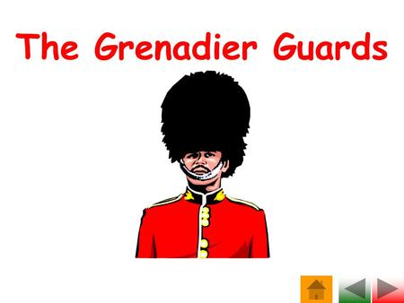 The Grenadier Guards. The badge of the Grenadier Guards.