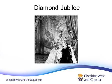 Diamond Jubilee. Diamond Jubilee Emblem Designed by Katherine Dewer, age 10, from Cheshire.