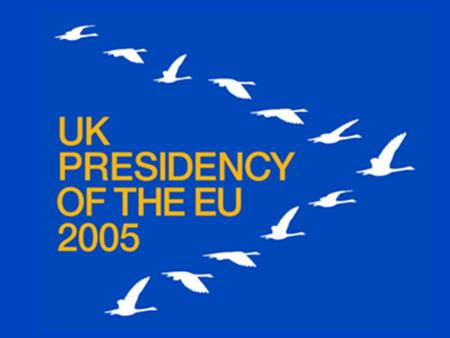 The UK and the EU 1973 - United Kingdom, Ireland and Denmark join the Community 1975 - Referendum confirming UK membership UK Presidencies – 1992, 1998,