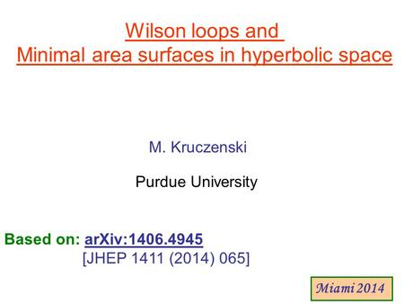 Minimal area surfaces in hyperbolic space