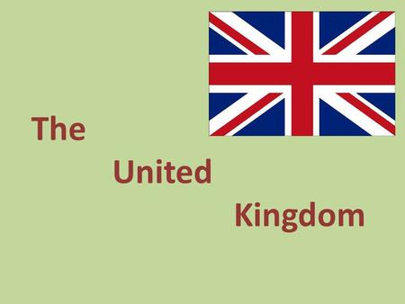 The United Kingdom. United Kingdom - Unitarian island country located in Western Europe. The UK includes England, Wales and Scotland.