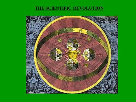THE SCIENTIFIC REVOLUTION. CREATION OF A NEW WORLDVIEW  Questioning of old knowledge & assumptions  Gradual replacement of religious & superstition.