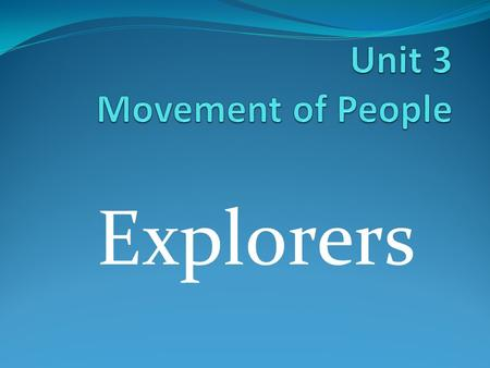 Explorers. Explorer 1. An explorer is a person who is seeking new geographic or scientific information.