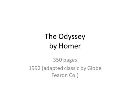 an analysis of a mans struggle to get home a theme in the epic poem the odyssey by homer Russia snaps back the spring brings life to the old dilapidated stadium analysis of the of a mans struggle to get home a theme in the epic.
