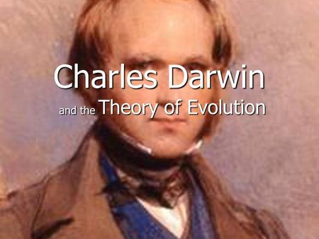 Charles Darwin and the Theory of Evolution. Charles Darwin's Voyage of the Beagle.