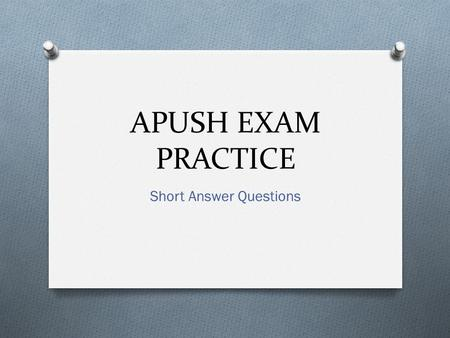 answering short answer essay questions The essay exam organization and to answer each question and to review/edit all read through the questions once and note if you have any choice in answering.