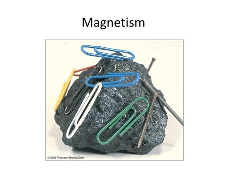 Magnetism. Single moving charge and the magnetic field it creates.