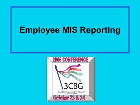 Employee MIS Reporting. 2 Employee Data Uses Federal IPEDS reporting Full-time Faculty Obligation Annual Staffing Report Technology II Funding Faculty.