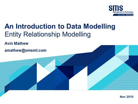 introduction to database modeling Introduction to data modeling the document is a practical guide, not an academic paper on either relational database design or data modeling.