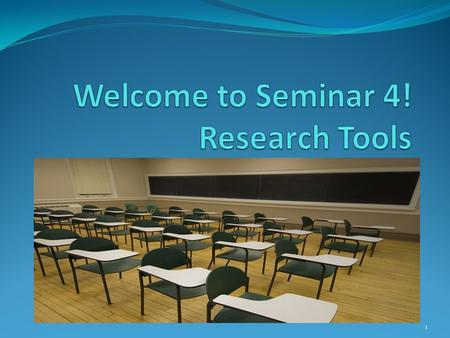 1. Hello everyone! Welcome to Unit 4 seminar. I hope you all had a great week! Welcome to seminar!