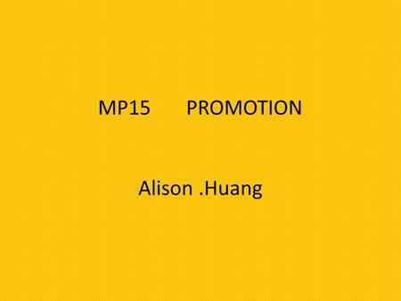 Define promotion. What does promotion do? Promotion is communication techniques aimed at informing, influencing and persuading customers to buy or use.