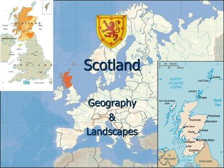 Scotland Geography&Landscapes. Scotland identity Scotland is located in northern Europe and is of 78'789 km² wide. The coastline is of 12'000 km long.