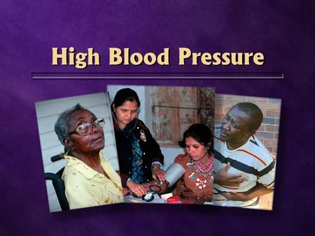 High Blood Pressure. Stroke 600.000.000 people worldwide 600.000.000 people worldwide 1 in 10.