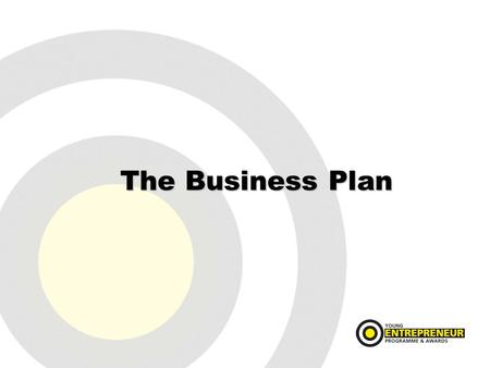 The Business Plan. What is it? It is a study which identifies the business, the product, the market, the business feasibility and it financial requirements.