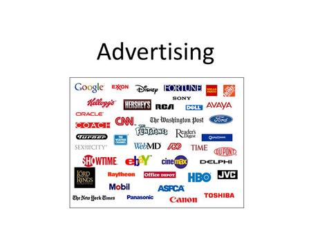 Advertising. What is Advertising? A form of communication that influences an individual to purchase something.