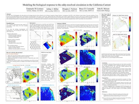 Conclusions The quantitative dynamical fitting procedure has been tested successfully for CalCOFI hydrographic data by adjusting temperature and salinity.