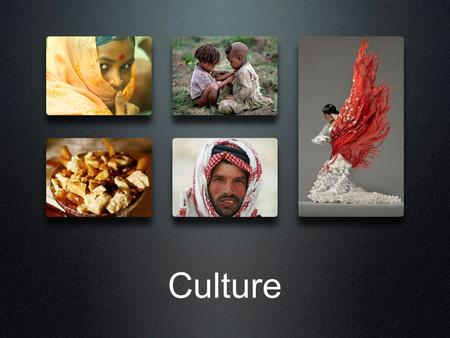 Culture. Friday's Lecture is Pre- recorded I will be attending the UTSC Convocation Ceremony at 9:30 because: One of your fellow students, Jennifer Khoury,