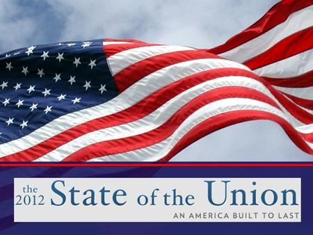 "State of the Union Address Article 2, Section 3... "" He shall from time to time give to the Congress information of the State of the Union, and recommend."