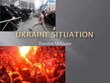 Trenton McGuire. As the crisis in Ukraine continues to unfold rapidly, Republicans aren't waiting for the dust to settle before declaring that they saw.
