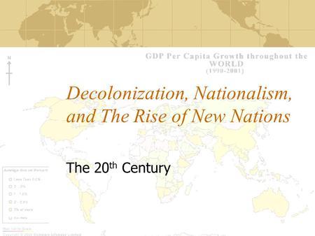 decolonization cold war essay