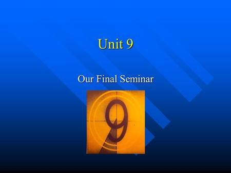 Unit 9 Our Final Seminar. Any questions? Chapter 14 Drug Decriminalization and Harm Reduction.