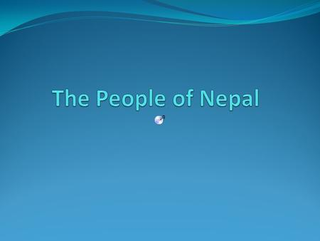 The People of Nepal Nepal gets its name from Nepa, the name given the Kathmandu Valley. The word Nepa is derived from the name of the Hindu sage Ne who.