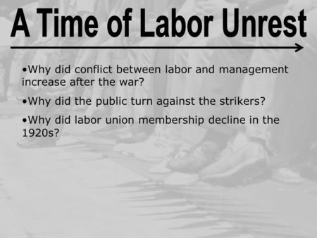 why america still needs labor unions essay Why Labor Unions Are No Longer Necessary