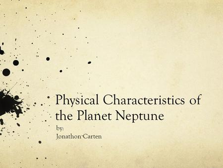 physical characteristics of planets - photo #4