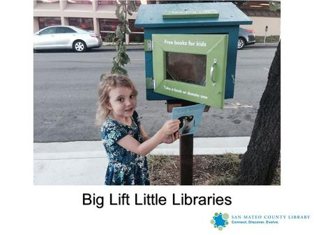 Big Lift Little Libraries. The Big Lift Plan Overall Goal: Go from 58% reading at grade level by 3 rd grade to 80% Overall Goal: Go from 58% reading at.