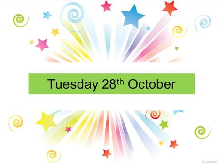 Tuesday 28 th October. All Year Groups Would you like to learn the TIN WHISTLE? It's an easy instrument to learn and loads of fun. RE Room 2 Tuesdays.