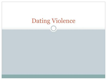 Dating Violence. Philosophical Question It's normal and healthy for someone in a relationship to be jealous.