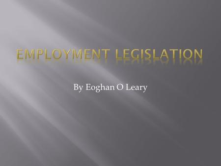 By Eoghan O Leary.  An employee is an individual who was hired by an employer to do a specific job.  The employee is hired by the employer after an.