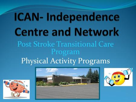 Post Stroke Transitional Care Program Physical Activity Programs.