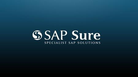 What is Sure Stats? Sure Stats is an add-on for SAP that provides Organizations with detailed Statistical Information about how their SAP system is being.